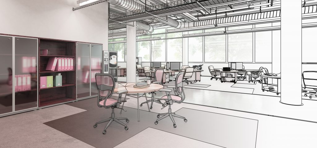 Office design for london office fit out