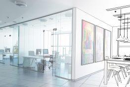 Office design concept for a Office Refurbishment