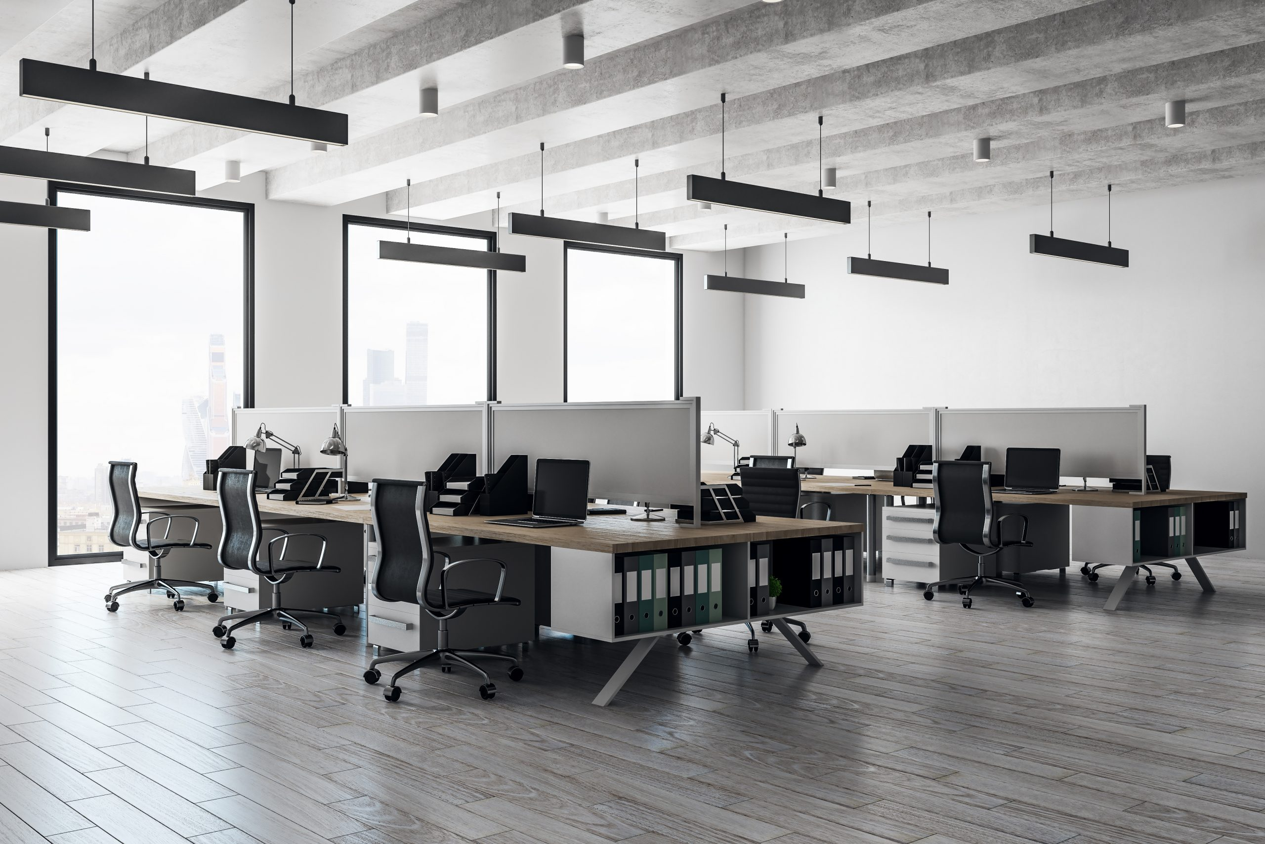 Office furniture installation after office fit out