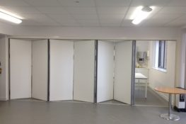 office folding wall partition